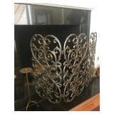 Fireplace screen - $50