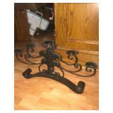 Wrought iron 5 candle holder. $35