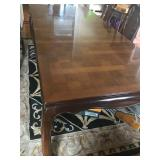 Dining room table with wings. $200