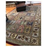Woolen floor rug (2) Each is $300