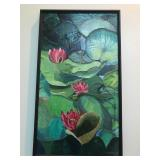 Water lilies. Oil. Ruth Palombo. $550.