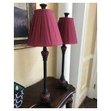 Two bar lamps. $60