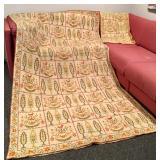 Hand Vintage Needlepoinot Tapestry & Runner