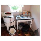 Kitchen & Farm Enamel Table
