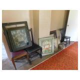 Funeral framed Memeorial cards
