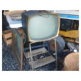 Cool Mid Century TV with Stand