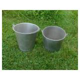Chrome Milk Buckets