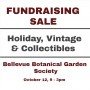 Bellevue Botanical Garden Society HOLIDAY, VINTAGE & COLLECTIBLES Fundraising Sale