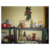 Dining Room: Christmas--Lights, Ornaments, Cups