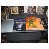 Upstairs 1st Left Bedroom Left: Books-Homeworld, StarCraft, Inferno!, Descent