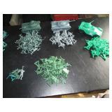 Upstairs 1st Left Bedroom Left: Bunch of Plastic Soldiers