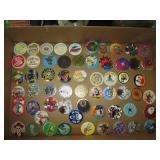 Upstairs 1st Left Bedroom Left:  Pogs-98, 4 Slammers 4, (Buzz Saw 14kt ), Eliminator, Eight Ball,