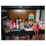 Upstairs 2nd Center Bedroom Left: Barbies, Jeep, Ken, Stuff