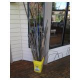 Back Deck: Planting Sticks