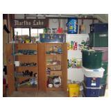 Garage: Garden Nozzles, Pepsi Cool Mariners, Trunk, Tubs