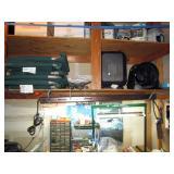 Garage: Chairs, Heater Fans, Grow Lights