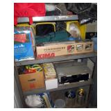Garage: Power Hound Ski Rack, Camping Stuff