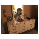 Vintage White  Long Dresser