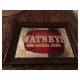 Watneys Beer Painted Mirror