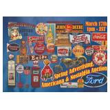 Antiques, Advertising, Americana, Nostalgia