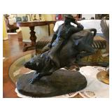 Austin Productions Bull Rider Statue