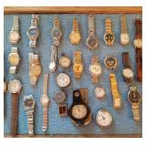 Huge selection of watchs