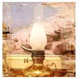 Bradley & Hubbard Oil Lamp
