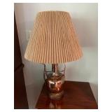 ANTIQUE COPPER TEA LAMP $350