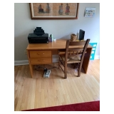 DESK AND CHAIR $80