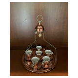 TURKISH COFFEE FOR 6 WITH HIGH TRAY $100