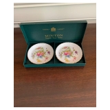 PAIR OF MINTON DISHES $20