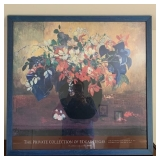 PRIVATE COLLECTION DEGAS FLOWER POSTER $145