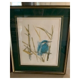 SERIES OF 4 SIGNED CHAD STOSE BIRD 16X14 $85
