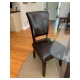 4 LEATHER CHAIRS $200