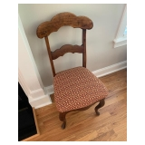PAIR OF ANTIQUE SIDE CHAIRS $250.00