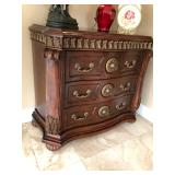 Ornate Gilded Applique Large Chest