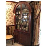 Baker Arched Top Art Deco Cabinet
