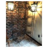 Tall Heavy Wrought Iron Plant stand