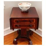 Empire Drop Side Work Table