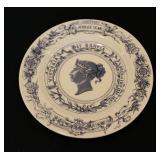 Queen Victoria Jubilee Plate