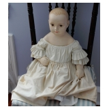 Signed 20th C Doll