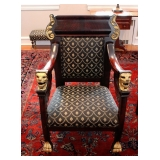 1 of 2 French Empire Chairs