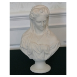Queen Victoria Parian Bust  by R C Clytie