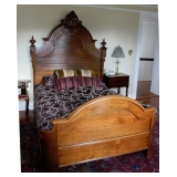 Victorian Renaissance Revival Bed