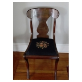 ! of 4 Fiddle Back Chairs