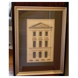1 of 4 French Architectural Prints