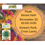 FLASH ESTATE SALE! ONE DAY ONLY! Join Us In Cross Lanes For This Super Estate Sale! IT ALL MUST GO!