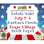 Join Us For A Independence Day Weekend Sale! Beautiful Teays Village Rancher & A Full Garage!