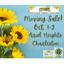 BY APPOINTMENT ONLY! Moving Sale Located On Charleston's Beautiful Ariel Heights Rd!