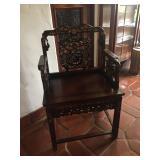 Beautiful inlaid chair